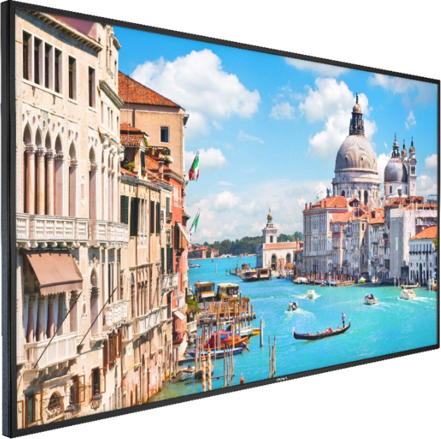 "DS-D5043UC | 43"" 4K, HDMI*2, VGA*1, USB2.0, USB3.0, build-in speaker, 400 cd/m2, view angle 178°/178°, plastic casing, VESA, 7*24h"